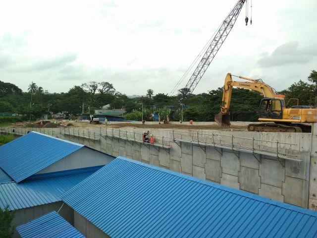 【ミャンマー】New Thaketa Bridge